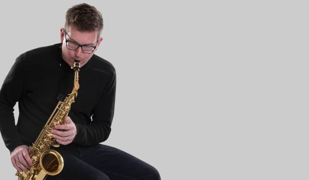 Beginner saxophone warmups